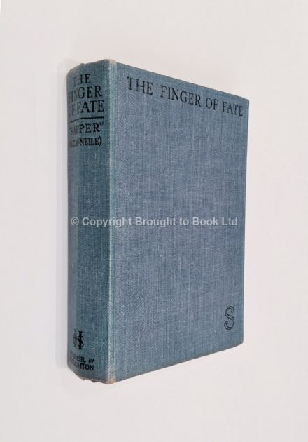 The Finger of Fate by Sapper First Edition Hodder & Stoughton 1930